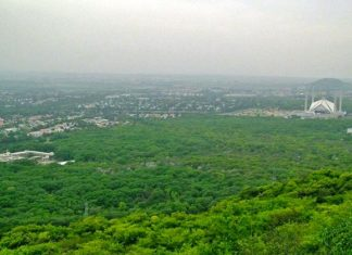 A view of Islamabad