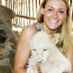 Cassandra with Lion Cubs