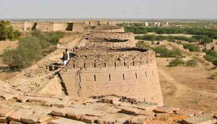 Crown of Cholistan desert
