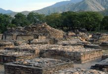 Buddhist remains in Swat Valley