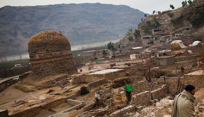 Shingardar Stupa in Swat Valley