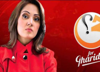 Gharida Farooqi Anchor