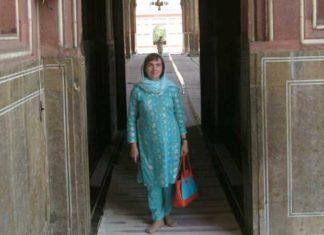 Ukrainian lady visited Pakistan