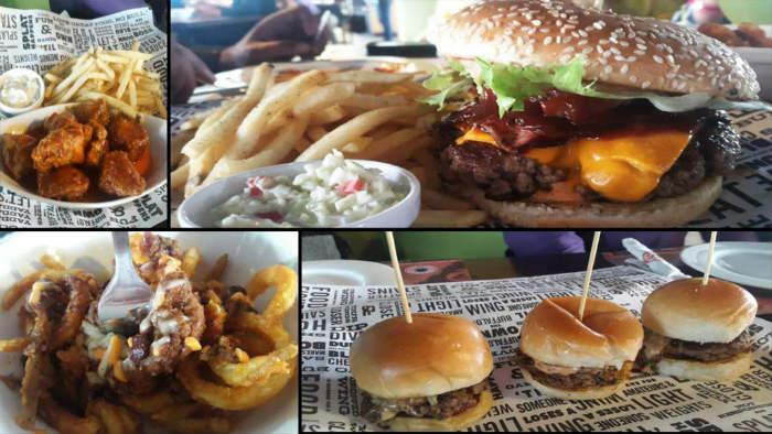 wings best burgers