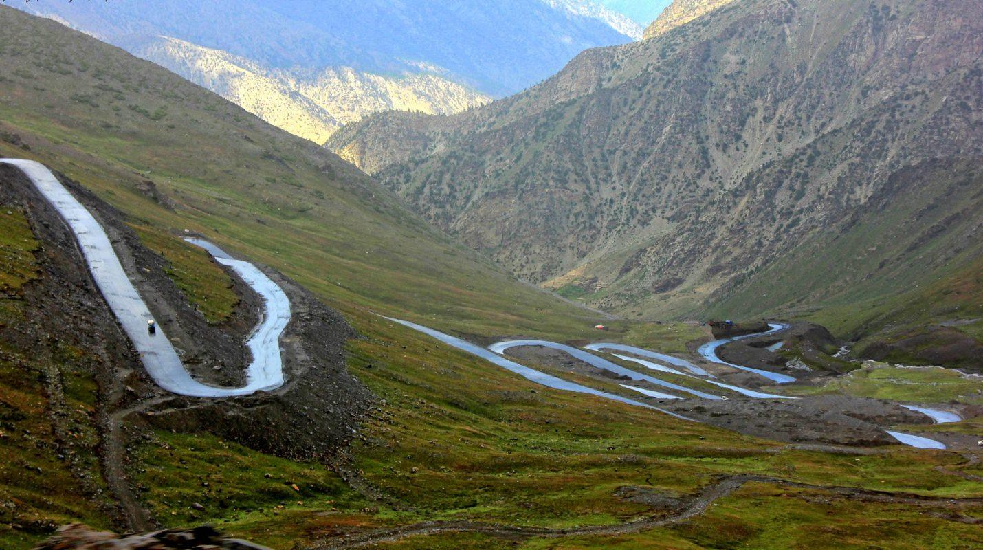 Babusar Pass road