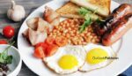 English breakfast in lahore