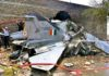 Indian plane shot by pakistan airforce