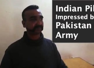 indian pilot pakistan army