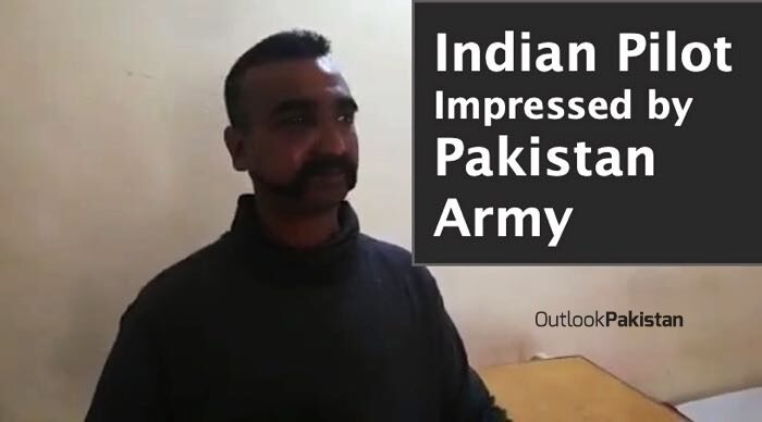 Arrested Indian pilot Impressed by Pakistan Army