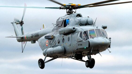 Indian Air Force Mi-15 V5 chopper