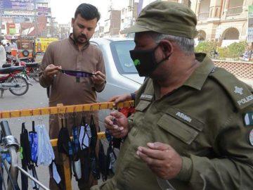 coronavirus face masks in pakistan