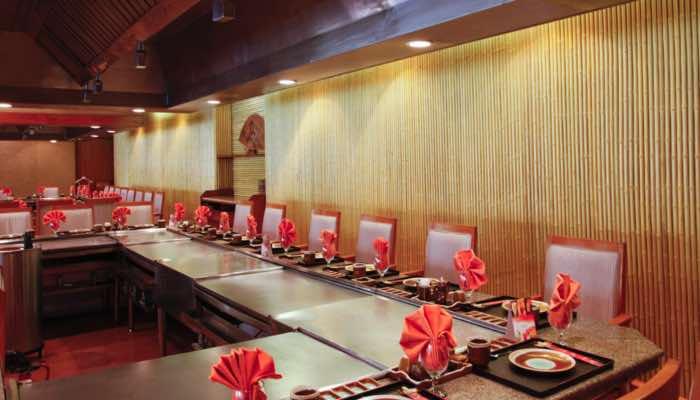 Fujiyama Teppanyaki Sitting the best japanese restaurant in lahore